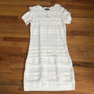 BANANA REPUBLIC - NWT white dress